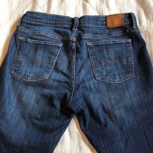 Lucky dark denim jeans sweet straight